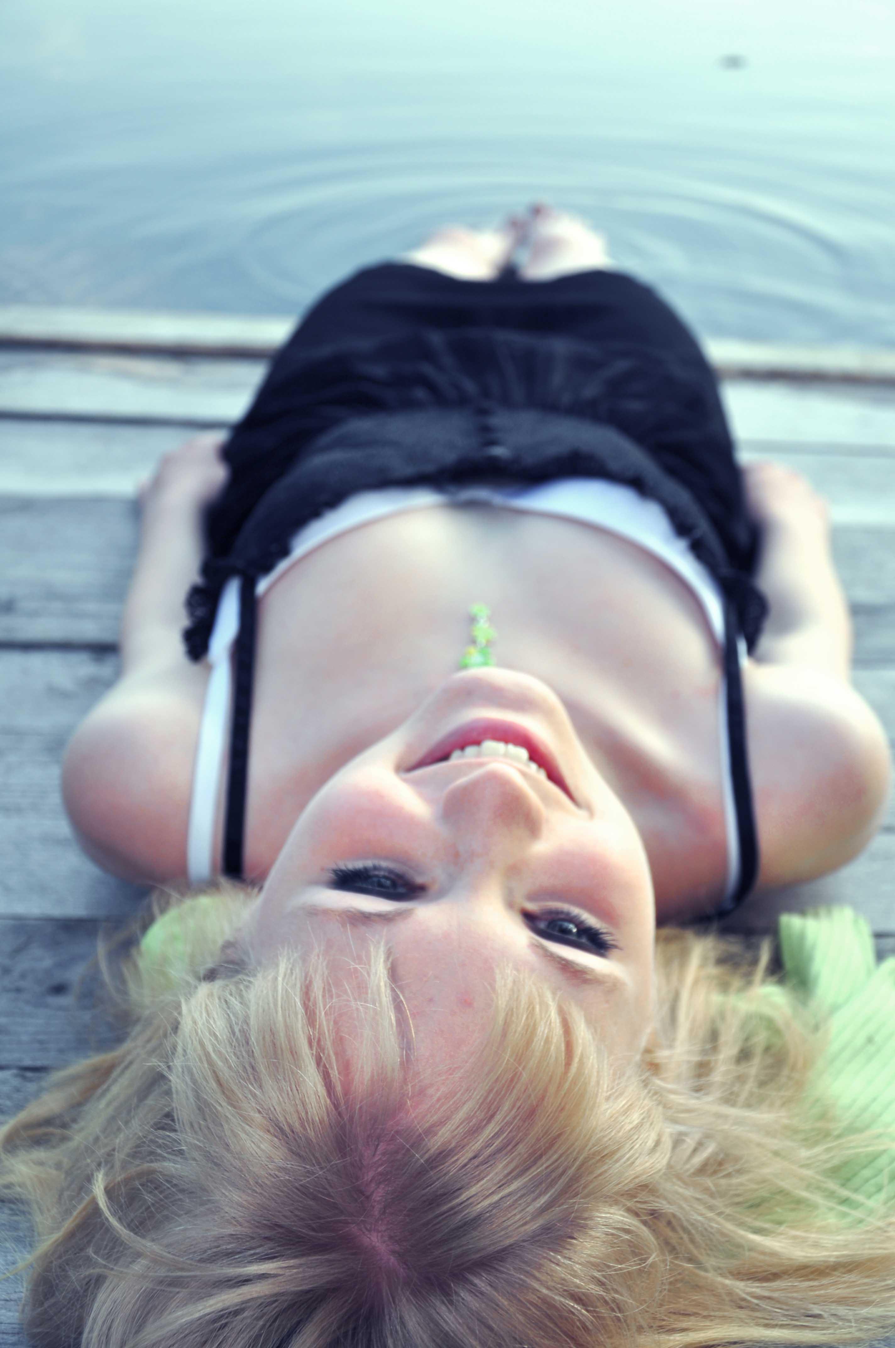 Angelica, stilla i solen